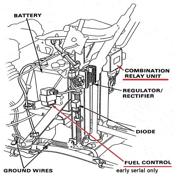honda 4514 combination relay, coilHonda Tractor Repair Services