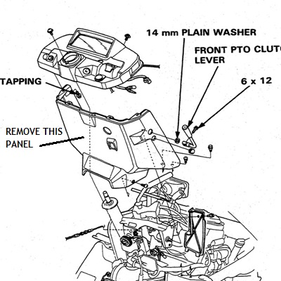 on honda 5013 wiring diagram